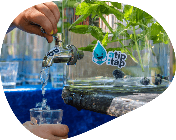 a tip: tap wasserspender